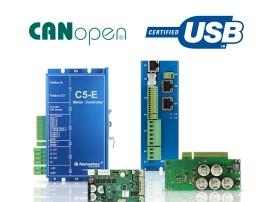 CANopen伺服电机/无刷电机控制器