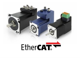 EtherCAT总线集成伺服电机