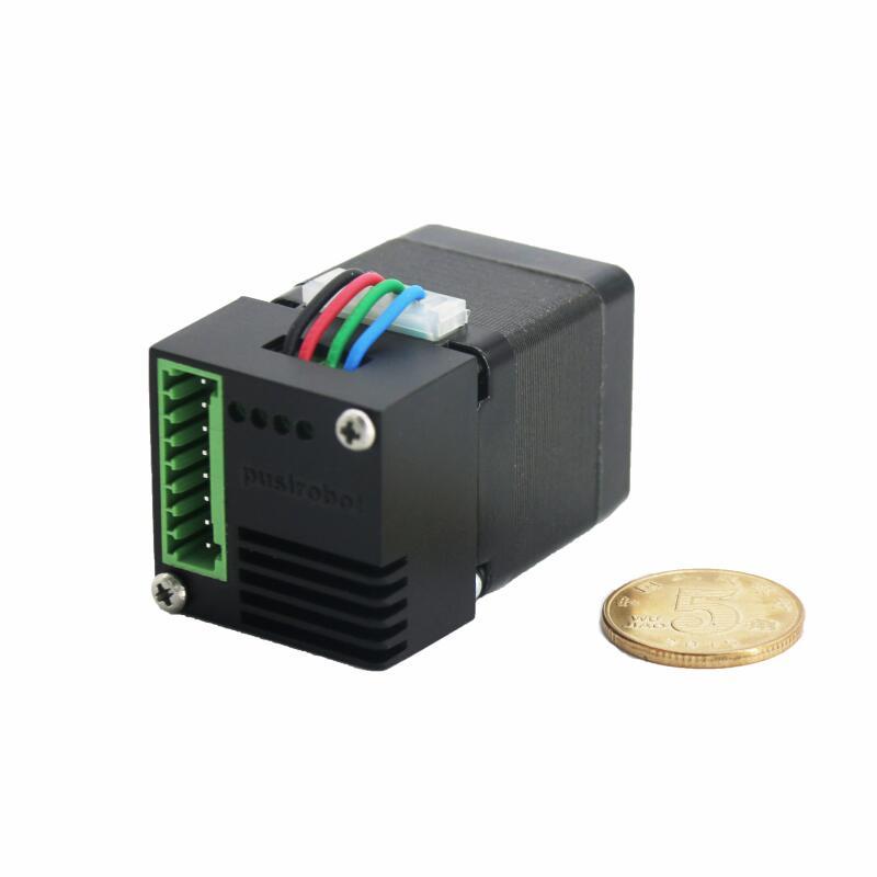 产品推介:28一体化闭环步进电机,内置驱动与控制。为更小空间提供方案支持